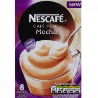 Image of Nescafe Cafe Menu Mocha 8 Sachets 176g