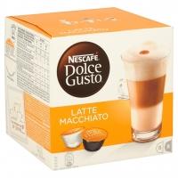 Image of Nescafe Dolce Gusto Latte Macchiato Coffee 16 Capsules 16 capsules makes 8 drinks