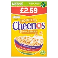 Image of Nestle Honey Cheerios 375g