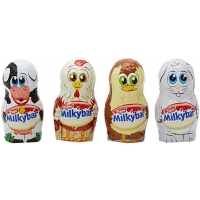 Image of TODAY ONLY Nestle Milkybar Farmyard Minis 19.5g Various Colours