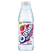 Image of Oasis Aquashock Spicy Raspberry 500ml