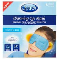 Image of Optrex Warming Eye Mask 8 Pack