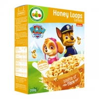 Image of Paw Patrol Honey Loops Cereals 200g