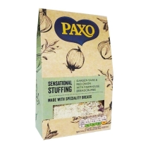Image of Paxo Sensational Stuffing Garden Sage and Red Onion with Farmhouse Breadcrumbs 110g