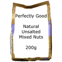 Image of WEEKLY DEAL Perfectly Good Natural Unsalted Mixed Nuts 200g