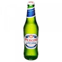Image of Peroni Nastro Azzurro Premium Lager Beer 330ml