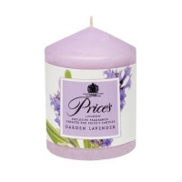 Image of Prices Garden Lavender Scented Pillar Candle 260g
