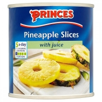 Image of Princes Pineapple Slices with Juice 432g
