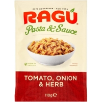 Image of Ragu Pasta and Sauce Tomato Onion and Herb 110g