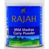 Image of 10 AT 10P Rajah Mild Madras Curry Powder 100g