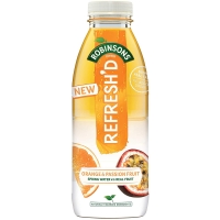 Image of Robinsons Refreshd Orange and Passionfruit 500ml