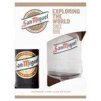 Image of San Miguel Glass Gift Set 330ml