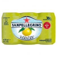 Image of MEGA DEAL San Pellegrino Pompelmo Sparkling Grapefruit Juice 330ml x 6