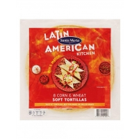 Image of TODAY ONLY Santa Maria 8 Corn and Wheat Soft Tortillas 320g