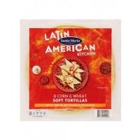 Image of Santa Maria 8 Corn and Wheat Soft Tortillas 320g