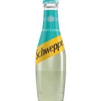 Image of 10 AT 10P Schweppes Bitter Lemon 200ml