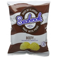 Image of Seabrook Beefy Flavour Crisps 31.8g