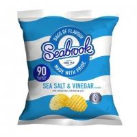 Image of Seabrook Sea Salt and Vinegar Flavour Crisps 18g