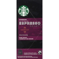 Image of TODAY ONLY Starbucks Fairtrade Espresso Roast Capsules Nespresso Compatible 10 capsules