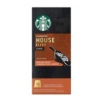 Image of Starbucks House Blend Lungo Medium Roast 10 Coffee Capsules 10 capsules