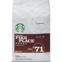 Image of TODAY ONLY Starbucks Pike Place Roast Medium Ground 793g