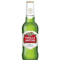 Image of Stella Artois Premium Lager Beer 284ml