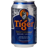Image of WEEKLY DEAL Tiger Lager Can Beer 330ml