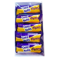 Image of TODAY ONLY Cadbury Caramel Cakes Bars 5 Pack