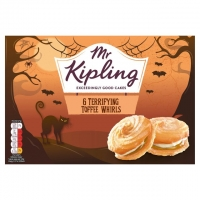Image of Mr Kipling 6 Toffee Whirls