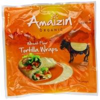 Image of Amaizin Organic Organic Wheat Flour Tortilla 6 Wraps 240g