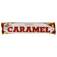 Image of 25 UNDER 25 Tunnocks Real Milk Chocolate Caramel Wafer Biscuits 37 g