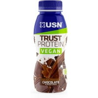 Image of USN Vegan Protein Shake Chocolate 310ml