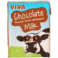 Image of 10 AT 10P Viva Chocolate Flavoured Milk 200ml