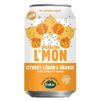 Image of Volvic Sparkling Lemon and Orange 330ml