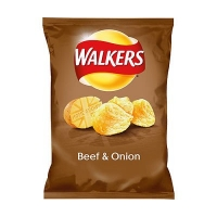 Image of Walkers Beef and Onion Flavour 50g