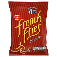Image of Walkers French Fries Worcester Sauce Crispy Potato Snacks 21 g