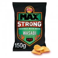 Image of Walkers Max Strong Wasabi 150g