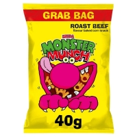 Image of TODAY ONLY Walkers Mega Monster Munch Roast Beef 40g