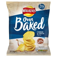 Image of Walkers Oven Baked Cheese and Onion Flavour 37.5g