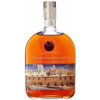 Image of Woodford Reserve Bourbon Whiskey Holiday Edition 1L