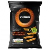 Image of 1P DEAL Yushoi Oven Baked Pea Snaps Sweet Chilli with Lemon 21g