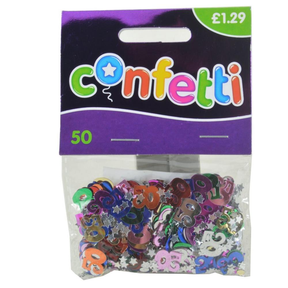 Confetti 50 year old