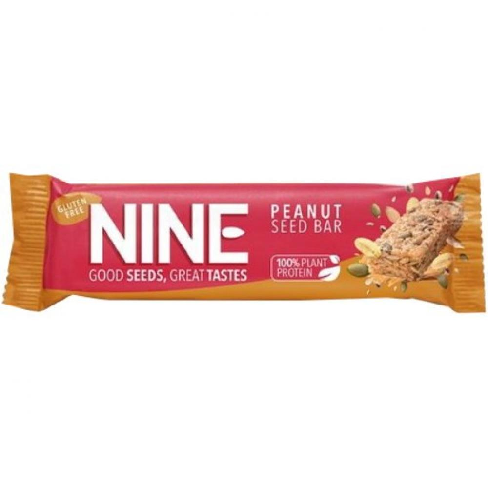9Nine Super Seeds Peanut Seed Bar 40g