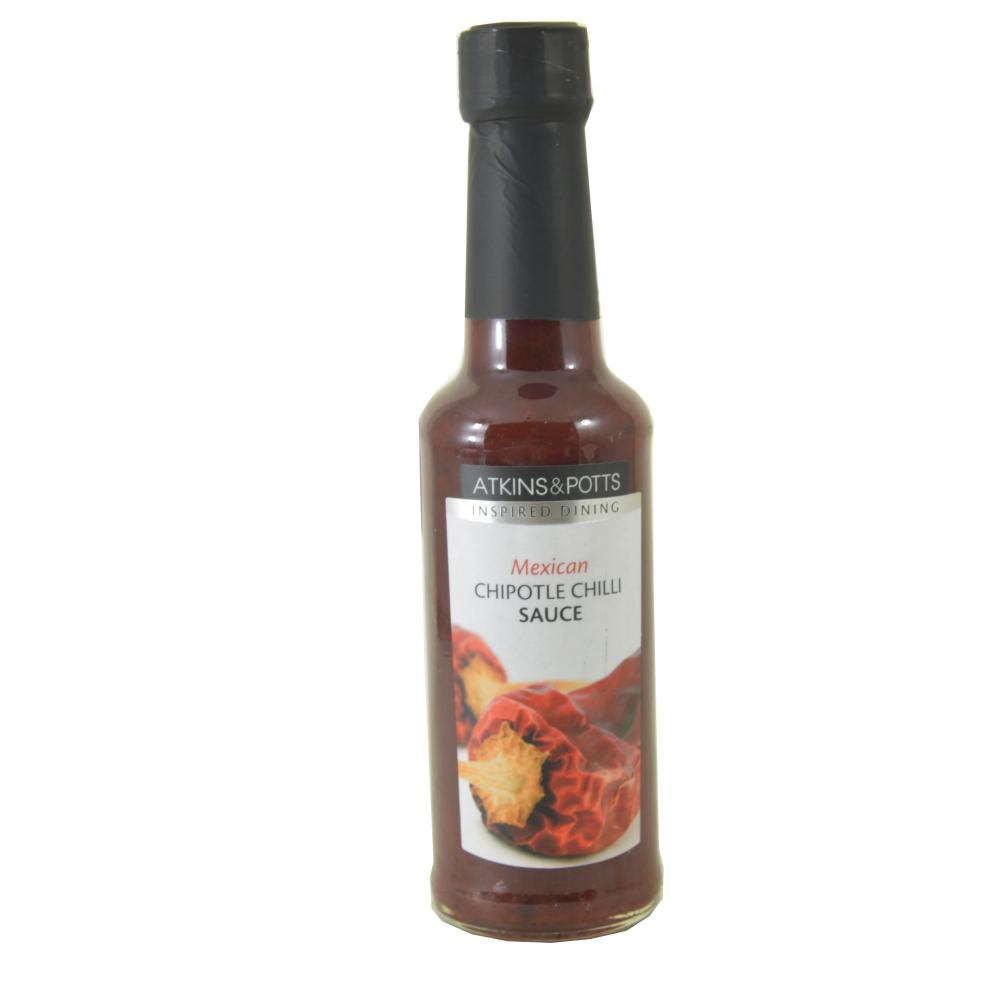 Atkins and Potts Mexican Chipotle Chilli Sauce 180g