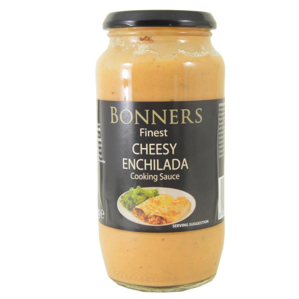Bonners Finest Cheesy Enchilada Cooking Sauce 480g