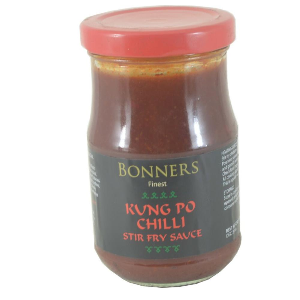 Bonners Finest Kung Po Chilli Stir Fry Sauce 200g