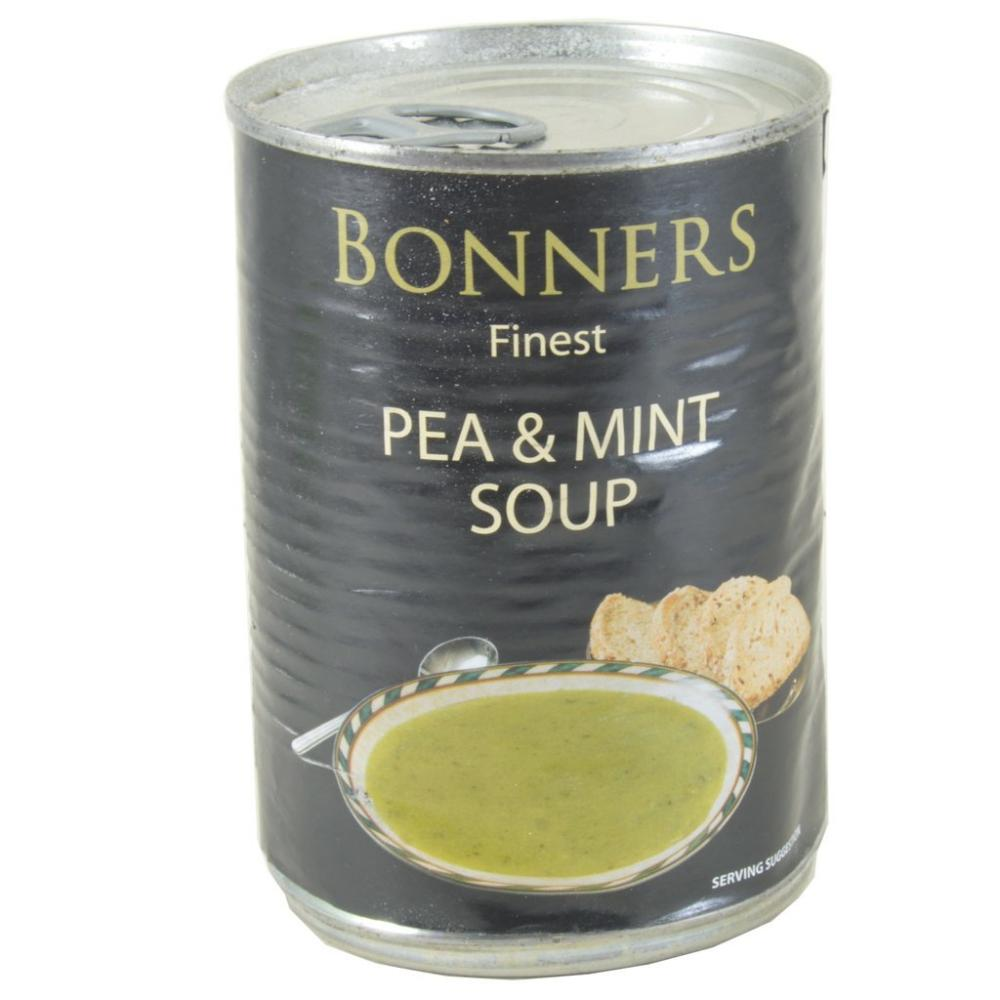 Bonners Finest Pea and Mint Soup 400g