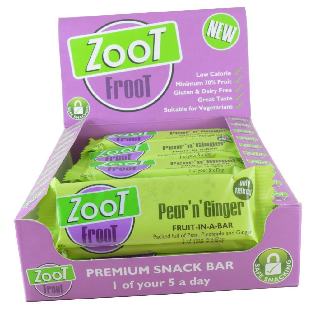CASE PRICE  Zoot Zoot Froot Snack Bar 20 x 35g