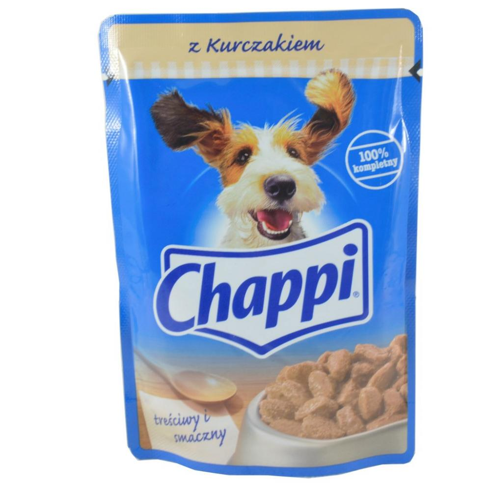 Chappi Dog food Pouch With Chicken 100g