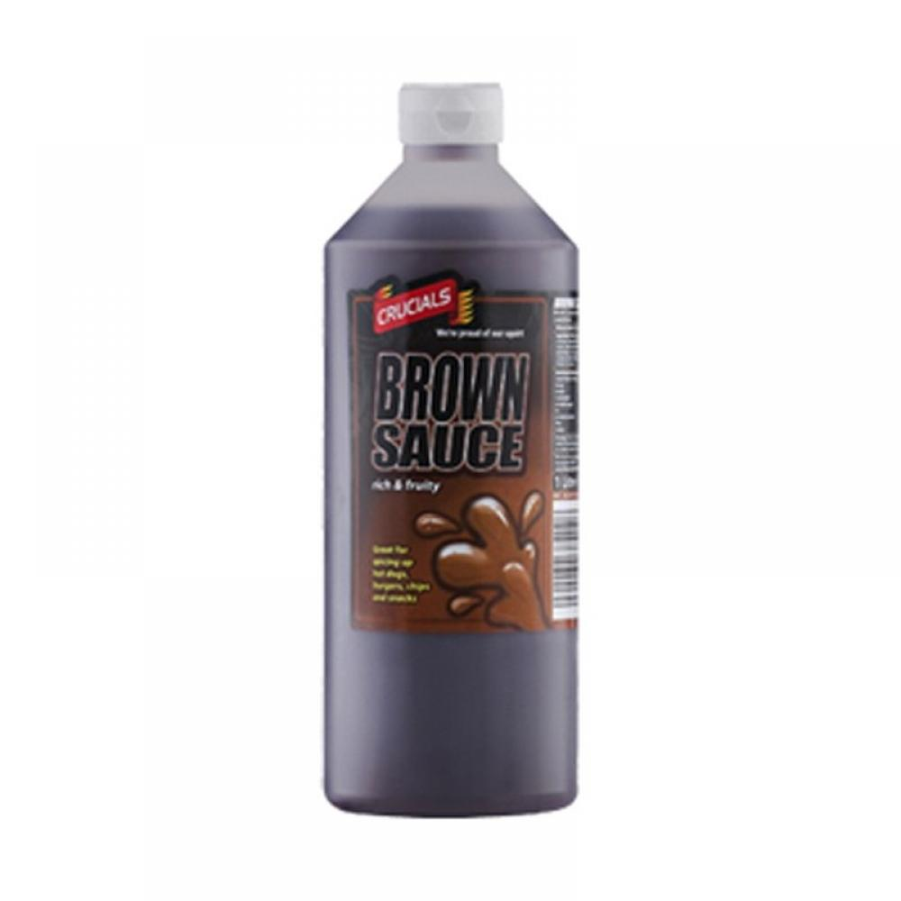 Crucials Brown Sauce 1 Litre